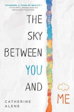 book cover, The Sky Between You and Me, by Catherine Alene