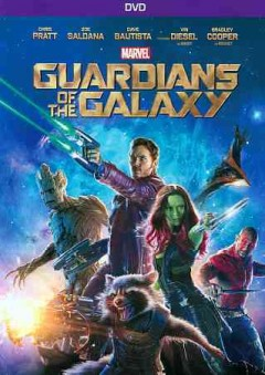 Guardians of the Galaxy DVD cover