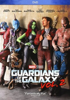 Guardians of the Galaxy Vol. 2 DVD cover