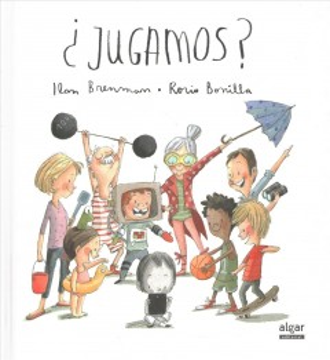 Book cover of Jugamos? by Ilan Brenman