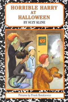 Horrible Harry at Halloween / by Suzy Kline ; illustrated by Frank Remkiewicz.