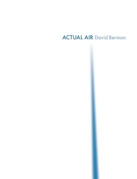 Actual air / David Berman.