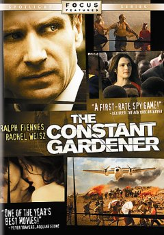 The constant gardener / Potboiler Productions ; Scion Films Limited ; UK Film Council ; produced by Simon Channing-Williams ; screenplay by Jeffrey Caine ; directed by Fernando Meirelles.