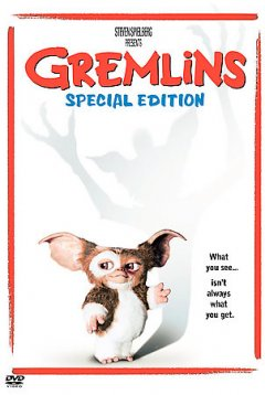 Gremlins / [presented by] Warner Bros. Pictures, Steven Spielberg ; produced by Michael Finnell ; directed by Joe Dante ; written by Chris Columbus.