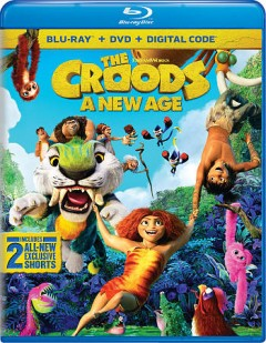 The Croods : a new age / Dreamworks Animation presents ; a Universal Picture ; story by Kirk DeMicco, Chris Sanders ; screenplay by Kevin Hageman & Dan Hageman and Paul Fisher & Bob Logan ; produced by Mark Swift ; directed by Joel Crawford.