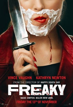 Freaky / Universal Pictures presents ; directed by Christopher Landon ; written by Michael Kennedy & Christopher Landon ; produced by Jason Blum ; a Blumhouse production ; in association with Divide/Conquer.