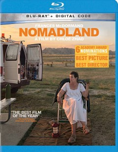 Nomadland / Searchlight Pictures presents ; a Highwayman, Hear/Say, Cor Cordium production ; written for the screen, directed, and edited by Chloé Zhao ; produced by Frances McDormand, Peter Spears ; produced by Mollye Asher, Dan Janvey, Chloé Zhao.