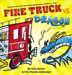fire truck vs dragon