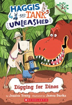 Digging for dinos / by Jessica Young ; illustrated by James Burks.