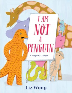 I am not a penguin / by Liz Wong.