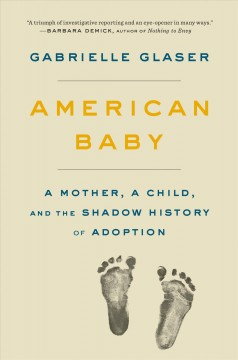 American baby : a mother, a child, and the shadow history of adoption / Gabrielle Glaser.