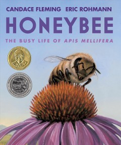 Honeybee: the busy life of Apis mellifera / Candace Fleming ; [illustrated by] Eric Rohmann.