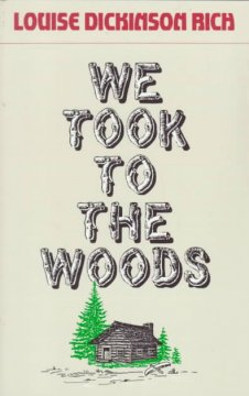 We Took To The Woods