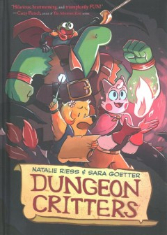 Dungeon critters / by Natalie Riess & Sara Goetter.