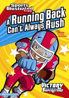 A running back can