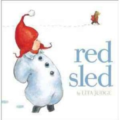 Red sled / by Lita Judge.