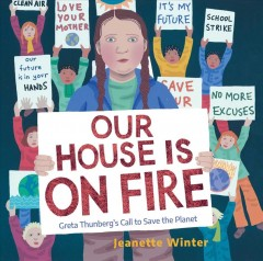 Our house is on fire : Greta Thunberg