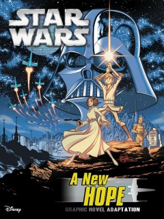 Star Wars. Episode IV, A new hope : graphic novel adaptation / manuscript adaptation, Alessandro Ferrari ; character studies, Igor Chimisso ; layout and clean up, Matteo Piana ; ink, Alessandro Pastrovicchio, Matteo Piana ; paint (background and settings), Davide Turotti ; paint (characters), Kawaii Creative Studio.