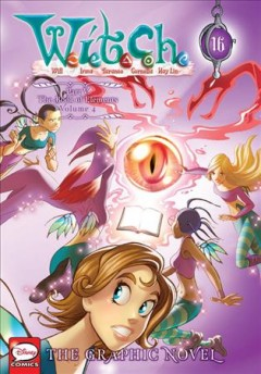 W.I.T.C.H. 16, Part V. The book of elements. Volume 4 / series created by Elisabetta Gnone ; translation by Linda Ghio and Stephanie Dagg ; lettering by Katie Blakeslee ; concept and script by Teresa Radice, Bruno Enna, Giulia Conti ; pencils by Davide Baldoni, Lucia Balletti, Paolo Campinoti ; inks by Marina Baggio, Roberta Zanotta, Santa Zangari, Federica Salfo, Danilo Loizedda ; color and light direction by Franscesco Legramandi.