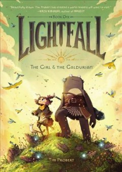 Lightfall.  The girl & the Galdurian  Book one,