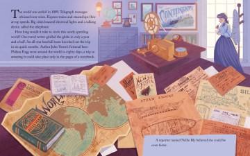 A race around the world : the true story of Nellie Bly & Elizabeth Bisland