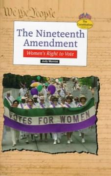 The 19th Amendment :women