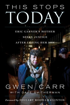 This stops today : Eric Garner
