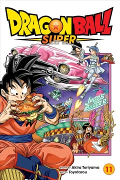 Dragon Ball super.  Great escape  11,