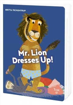 Mr. Lion dresses up!