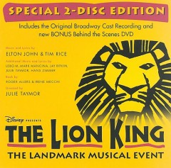The Lion King by Original Broadway Cast