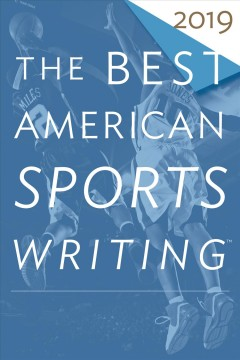 The best American sports writing.