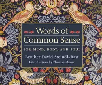 Words of common sense