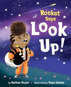 Rocket says look up!