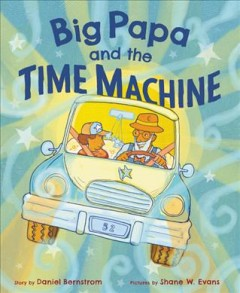 Big Papa and the time machine book cover