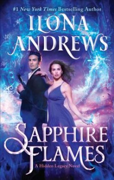 Sapphire flames book cover