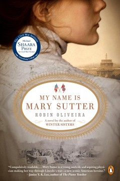 My name is Mary Sutter book cover