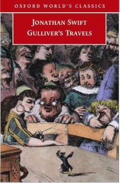 Gulliver's travels: an authoritative text, the correspondence of Swift, Pope's verses on Gulliver's travels [and] critical essays. book cover