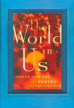 The world in us : lesbian and gay poetry of the next wave : an anthology book cover