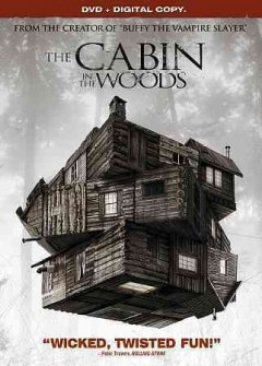 The cabin in the woods book cover