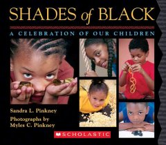 Shades of black : a celebration of our children book cover