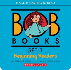 Bob books. Set 1, Beginning readers book cover