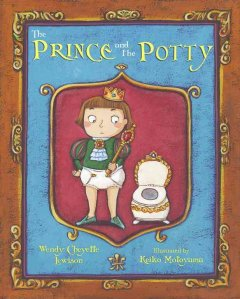 The prince and the potty book cover