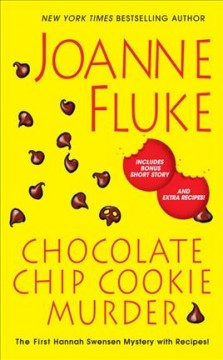 Chocolate chip cookie murder book cover