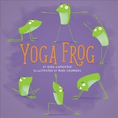 Yoga frog book cover