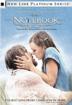 The notebook book cover