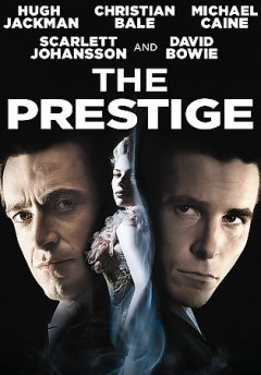 The prestige book cover