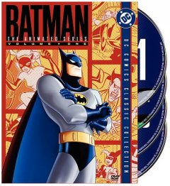 Batman, the animated series. Volume one book cover