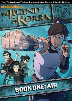The legend of Korra. Book one, Air book cover