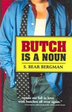 Butch is a noun book cover