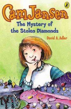 The mystery of the stolen diamonds /  book cover